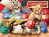 Kitties Fun Time - 500pc Jigsaw Puzzle By Sunsout