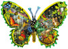 Butterfly Migration - 1000pc Shaped Jigsaw Puzzle By Sunsout