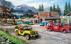 Alaskan Road Trip - 300pc Large Format Jigsaw Puzzle By Sunsout