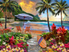 Hawaiian Life - 550pc Jigsaw Puzzle by Vermont Christmas Company