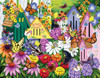 Butterfly Neighbors - 1000+pc Large Format Jigsaw Puzzle By Sunsout