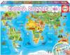 Monuments World Map - 150pc Jigsaw Puzzle by Educa