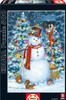 Woodland Snowman - 500pc Jigsaw Puzzle by Educa