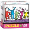 Haring: Dancing - 100pc Jigsaw Puzzle by Eurographics