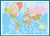 Eurographics Jigsaw Puzzles - Modern Map of the World