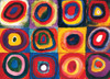 Eurographics Jigsaw Puzzles - Color Study of Squares and Circles