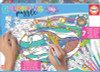 Sea Life - 150pc Coloring Jigsaw Puzzle by Educa