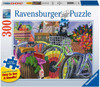 Bicycle Group - 300pc Large Format Jigsaw Puzzle By Ravensburger