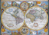 Eurographics Jigsaw Puzzles - Antique World Map