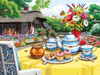 Honey and  Tea - 1000+pc Large Format Jigsaw Puzzle By Sunsout