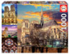 Notre Dame Collage - 1000pc Jigsaw Puzzle by Educa
