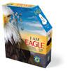 I AM EAGLE - 550pc Shaped Jigsaw Puzzle by Madd Capp