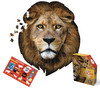 I AM LION - 550pc Shaped Jigsaw Puzzle by Madd Capp