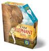I AM ELEPHANT - 700pc Shaped Jigsaw Puzzle by Madd Capp