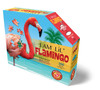 I AM LIL FLAMINGO - 100pc Shaped Jigsaw Puzzle by Madd Capp