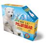 I AM LIL POLAR BEAR - 100pc Shaped Jigsaw Puzzle by Madd Capp