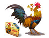 I AM LIL ROOSTER - 100pc Shaped Jigsaw Puzzle by Madd Capp