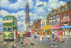 Blackpool Promenade - 500pc Jigsaw Puzzle by Gibson
