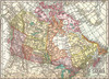 Antique Map: Dominion of Canada - 1000pc Jigsaw Puzzle by Eurographics