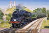 Corfe Castle Crossing - 500pc Jigsaw Puzzle by Gibson