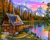 The Fishing Hut - 1000pc Jigsaw Puzzle by Vermont Christmas Company