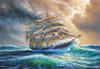 Sailing Against All Odds - 1000pc Jigsaw Puzzle By Castorland