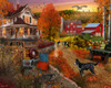 Country Inn & Farm - 1000pc Jigsaw Puzzle by Vermont Christmas Company