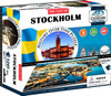 Stockholm - 1245+pc Jigsaw Puzzle  by 4D Cityscape