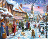Winter Stroll - 1000pc Jigsaw Puzzle by Vermont Christmas Company