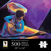 Praise Dancer With Umbrella - 500pc Jigsaw Puzzle by African American Expressions