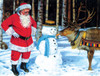 A Carrot for Rudolf - 300pc Large Format Jigsaw Puzzle By Sunsout