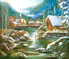 Snowy Harbor - 550pc Jigsaw Puzzle By Sunsout