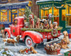 Doggone Christmas - 1000pc Jigsaw Puzzle by Vermont Christmas Company
