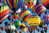 Hot Air Ballooning - 500pc Large Format Jigsaw Puzzle By Tomax