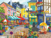 French Market - 300pc Large Format Jigsaw Puzzle By Sunsout