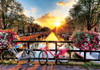 Amsterdam Sunrise Morning - 1000pc Jigsaw Puzzle By PuzzleLife