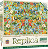 Replica: Flamingos - 1000pc Jigsaw Puzzle by Masterpieces
