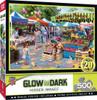 Hidden Images: Corner Market - 500pc Glow-in-the-Dark Puzzle by Masterpieces