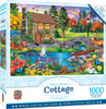 Stoney Brook Cottage Retreat - 1000pc Jigsaw Puzzle by Masterpieces