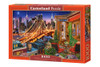 Brooklyn Bridge Lights - 1000pc Jigsaw Puzzle By Castorland