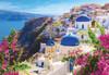 Greece, Santorini Island - 1000pc Jigsaw Puzzle by Turner