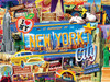 Greetings From: New York City - 550pc Jigsaw Puzzle by Masterpieces