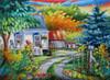Chez Les Voisins - 1000pc Jigsaw Puzzle by JaCaRou