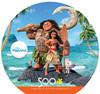 Disney: Moana - 500pc Round Jigsaw Puzzle by Ceaco