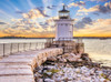 Portland Lighthouse - 1000pc Jigsaw Puzzle By Serious Puzzles