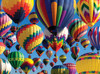 Hot Air Balloons - 1000pc Jigsaw Puzzle By Serious Puzzles