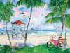 Bike to the Beach - 550pc Jigsaw Puzzle by Heritage Puzzle