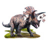 I AM Triceratops - 100pc Shaped Jigsaw Puzzle by Madd Capp