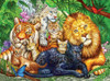 Big Cats - 1000pc Jigsaw Puzzle by Cra-Z-Art