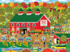 Bobbing Apple Orchard Farm - 300pc Large Format Jigsaw Puzzle by Cra-Z-Art